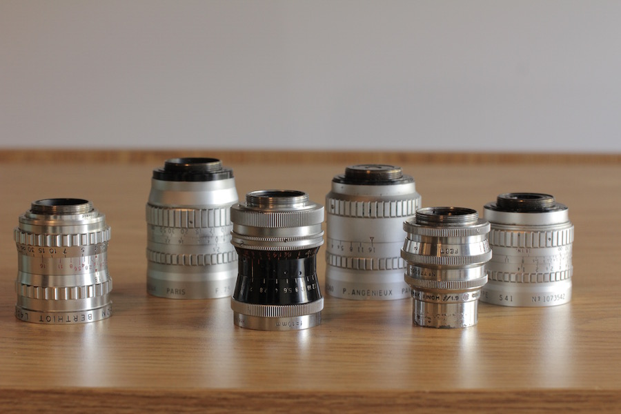 C-mount prime lens kit