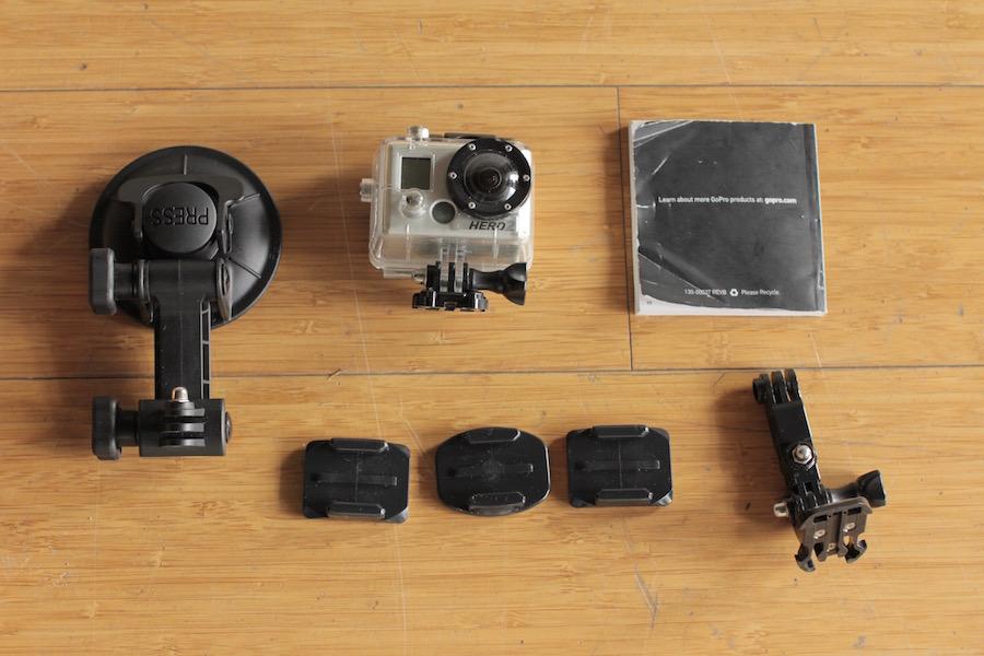 GoPro Hero 2 package