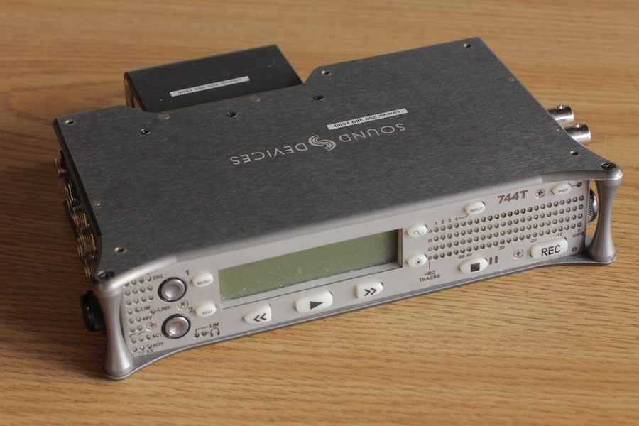 Sound Devices 744T HDD Recorder 1