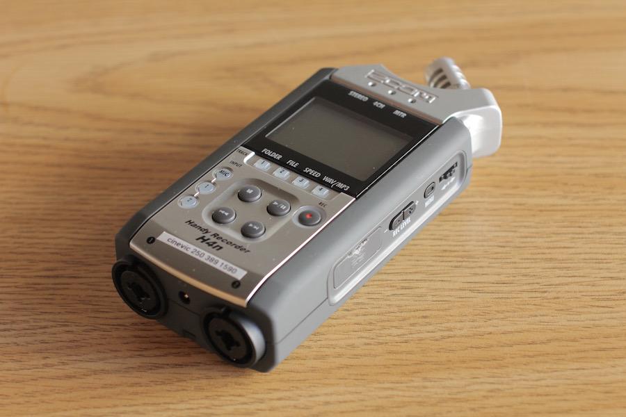 Zoom h4n Recorder